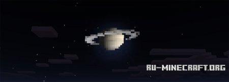 Скачать Solar System Skies [16x16] для Minecraft PE 0.17.0