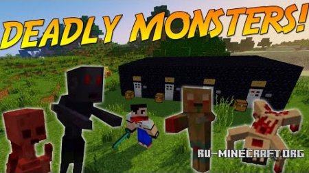 Скачать Deadly Monsters для Minecraft 1.11