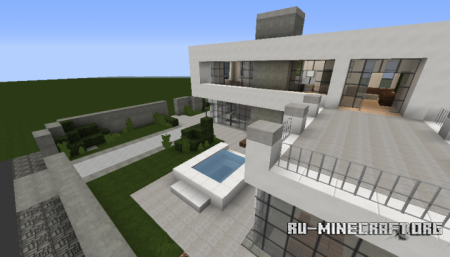 Скачать Modern House Exclusive Style для Minecraft