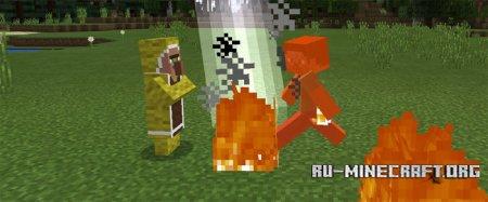 Скачать Elemental Mobs для Minecraft PE 1.0.0