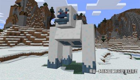 Скачать Giant Yeti для Minecraft PE 1.0.0