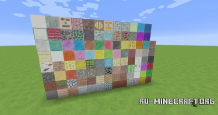 Скачать Pencil Pack – Hand Drawn [128x] для Minecraft 1.11