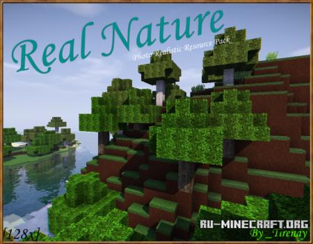 Скачать Real Nature [128x] для Minecraft 1.10