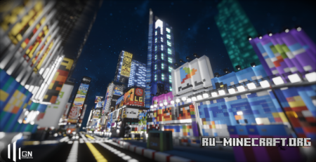 Скачать Times Square - The Heart of the World для Minecraft