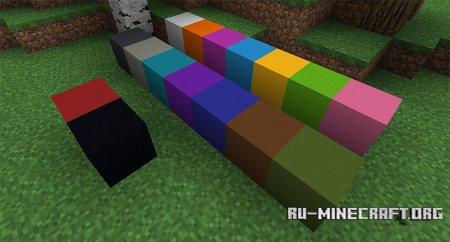 Блок бетона скриншот 3 в Minecraft 1.12