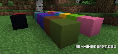Блок бетона скриншот 2 в Minecraft 1.12