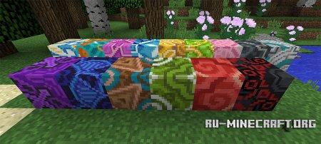 Глазурованная плитка скриншот 1 в Minecraft 1.12