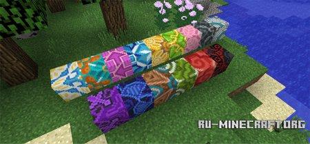 Глазурованная плитка скриншот 3 в Minecraft 1.12