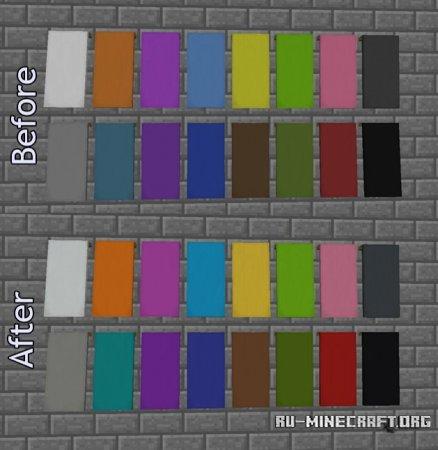 Флаги в Minecraft 1.12