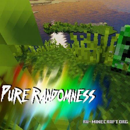 Скачать DonavinJT - Pure Randomness [32x] для Minecraft 1.11
