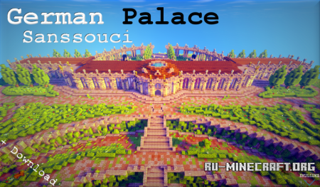 Скачать German Palace - Sanssouci для Minecraft