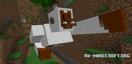 Скачать Giant Snow Gorilla для Minecraft PE 1.0.0