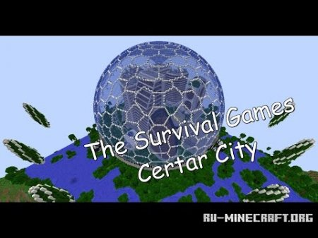 Скачать The Survival Games - Certar City для Minecraft