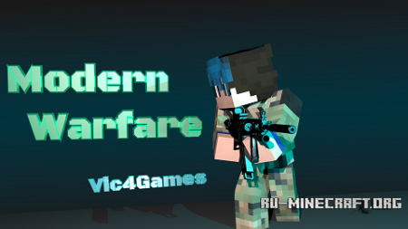Скачать Vic's Modern Warfare для Minecraft 1.10.2