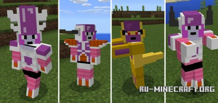 Скачать Dragon Block Frieza для Minecraft PE 1.0.0