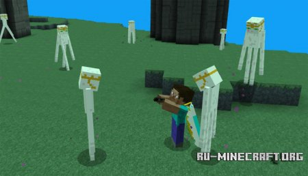 Скачать Jimbo's Aether для Minecraft PE 1.0.0