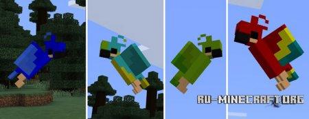 Скачать Parrot для Minecraft PE 1.0.0
