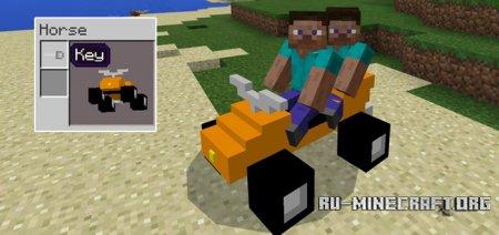 Скачать Mine-QuadBikes для Minecraft PE 1.0.0
