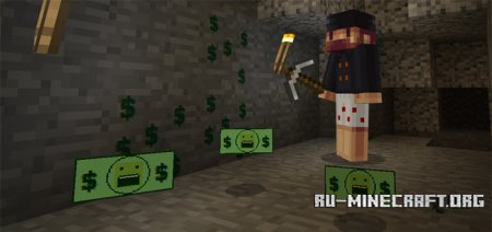 Скачать Notch's Money для Minecraft PE 1.0.0
