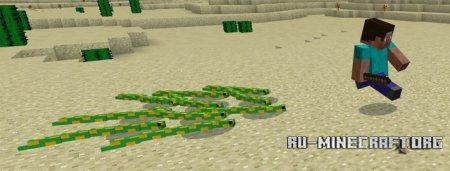 Скачать Mine-Snakes для Minecraft PE 1.0.0