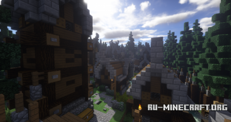Скачать Oddburch - A Nordic Village для Minecraft