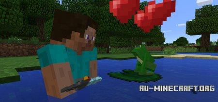 Скачать Mine-Frog для Minecraft PE 1.0.0