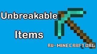 Скачать Unbreakable Tools для Minecraft 1.8.8