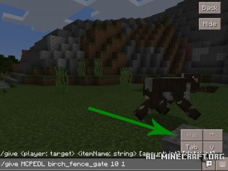 Скачать Autocompletion для Minecraft PE 1.0.0