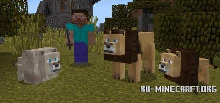 Скачать Lions для Minecraft PE 1.0.0