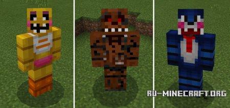 Скачать FNAF Pets для Minecraft PE 1.0.0