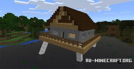Скачать Walking House для Minecraft PE 1.0.0