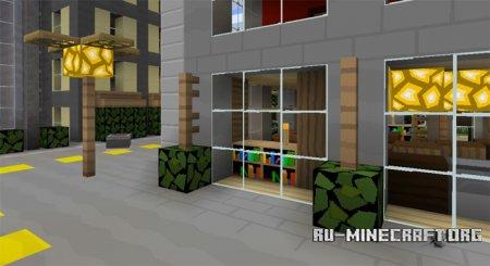 Скачать SimplySharp [64x64] для Minecraft PE 1.0.0