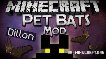 Скачать Pet Bat для Minecraft 1.11