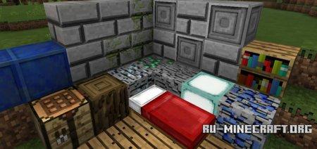 Скачать Starky's 3D [128x128] для Minecraft PE 1.0.0
