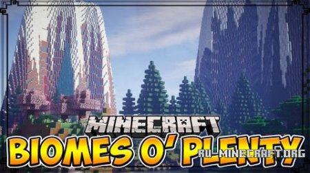 Скачать Biomes O' Plenty для Minecraft 1.6.4