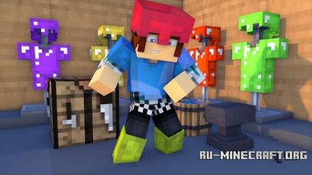 Скачать Colorful Armor для Minecraft 1.9