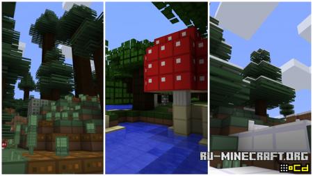 Скачать oCd Pack [64x] для Minecraft 1.7.2