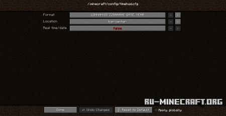 Скачать Time HUD для Minecraft 1.8