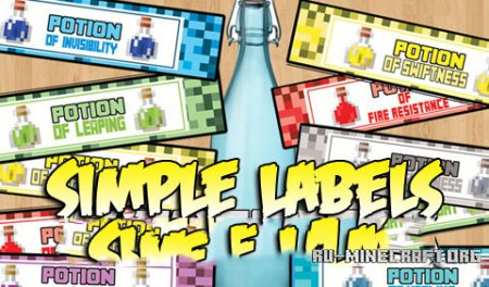 Скачать Simple Labels для Minecraft 1.9