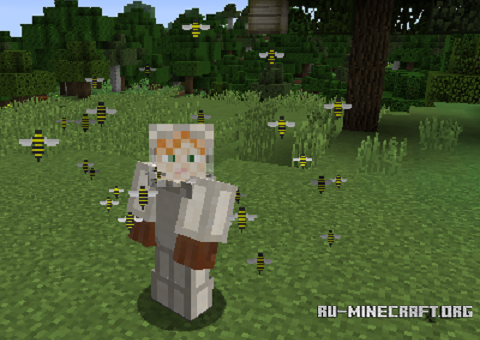 скачать Angry Bees для Minecraft 1 11 2