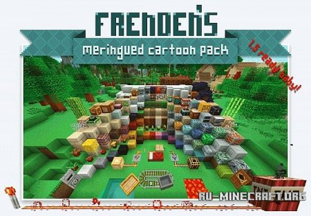 Скачать Frenden's Meringued Cartoon [16x] для Minecraft 1.6.4