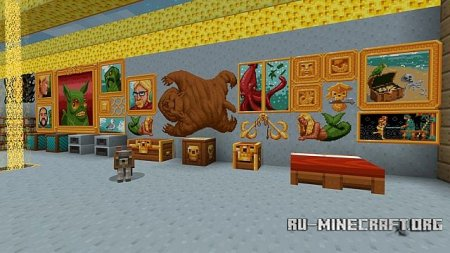 Скачать Frenden's Meringued Cartoon [16x] для Minecraft 1.6.4