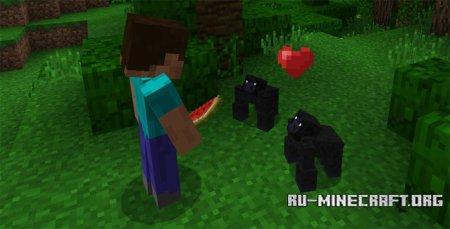 Скачать Gorillas для Minecraft PE 1.0.0