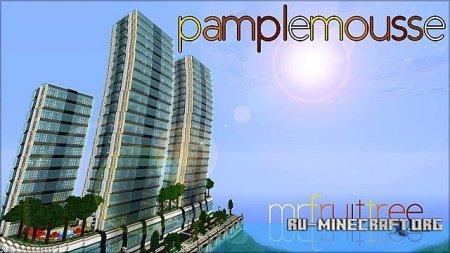 Скачать Pamplemousse [16x] для Minecraft 1.8