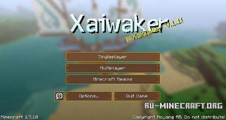 Скачать Xaiwaker Swirly [32x] для Minecraft 1.9