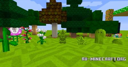 Скачать Wii U Edition Mario Mashup [16x] для Minecraft 1.10