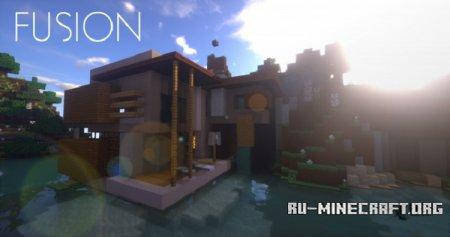 Скачать Fusion [16x] для Minecraft 1.11