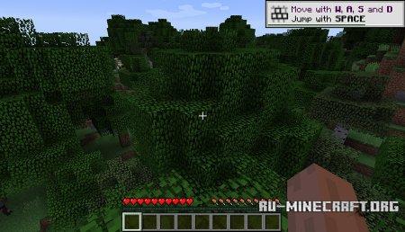 Учебные подсказки скриншот 1 в Minecraft 1.12