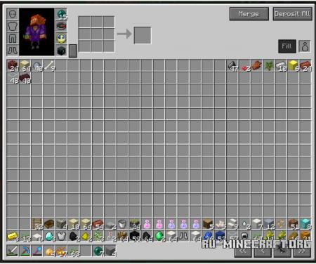 Скачать Overpowered Inventory для Minecraft 1.7.10