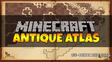 Скачать Antique Atlas для Minecraft 1.9.4
